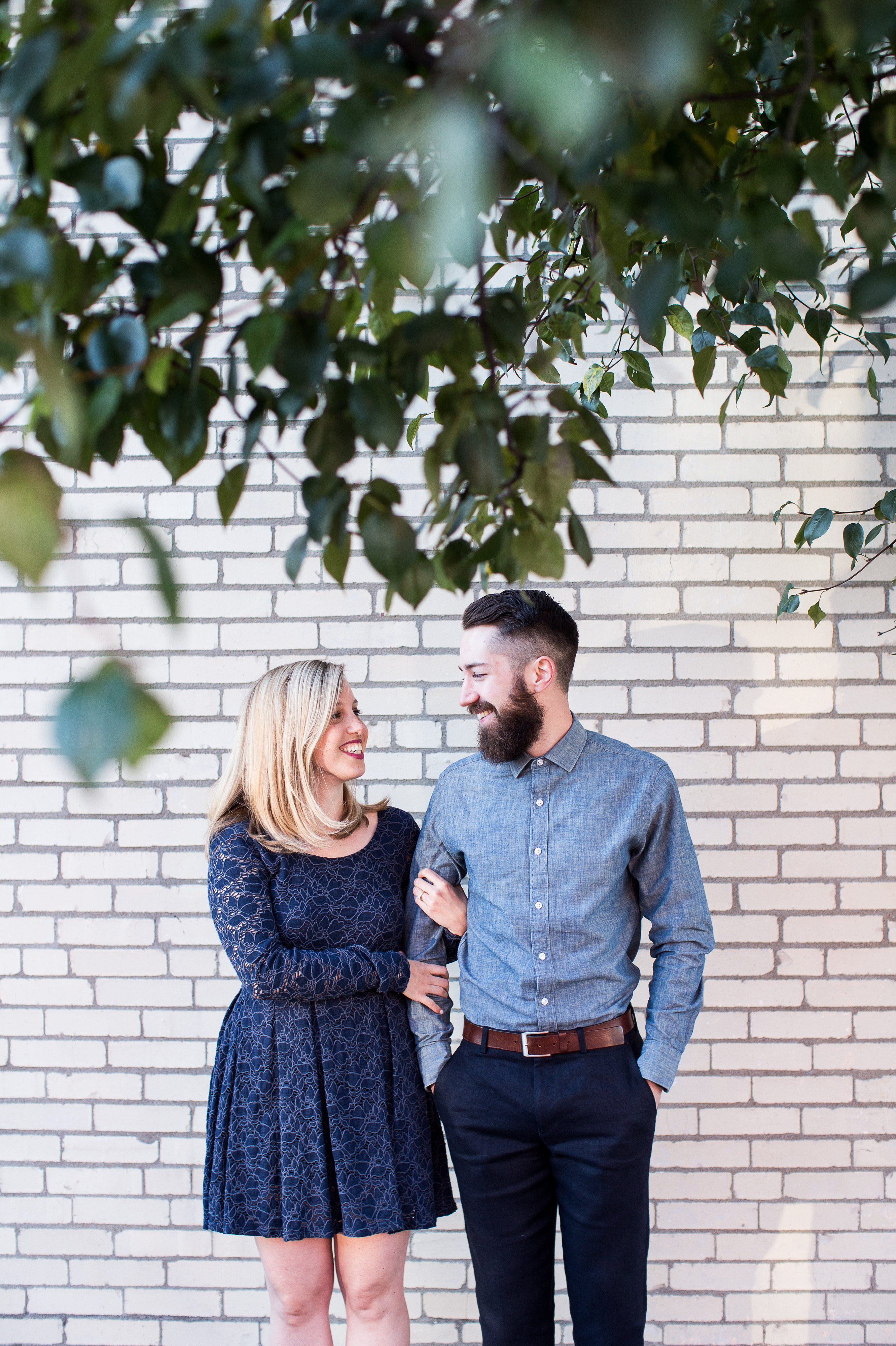 Westside Kansas City Engagement Portraits | Alex & Tim
