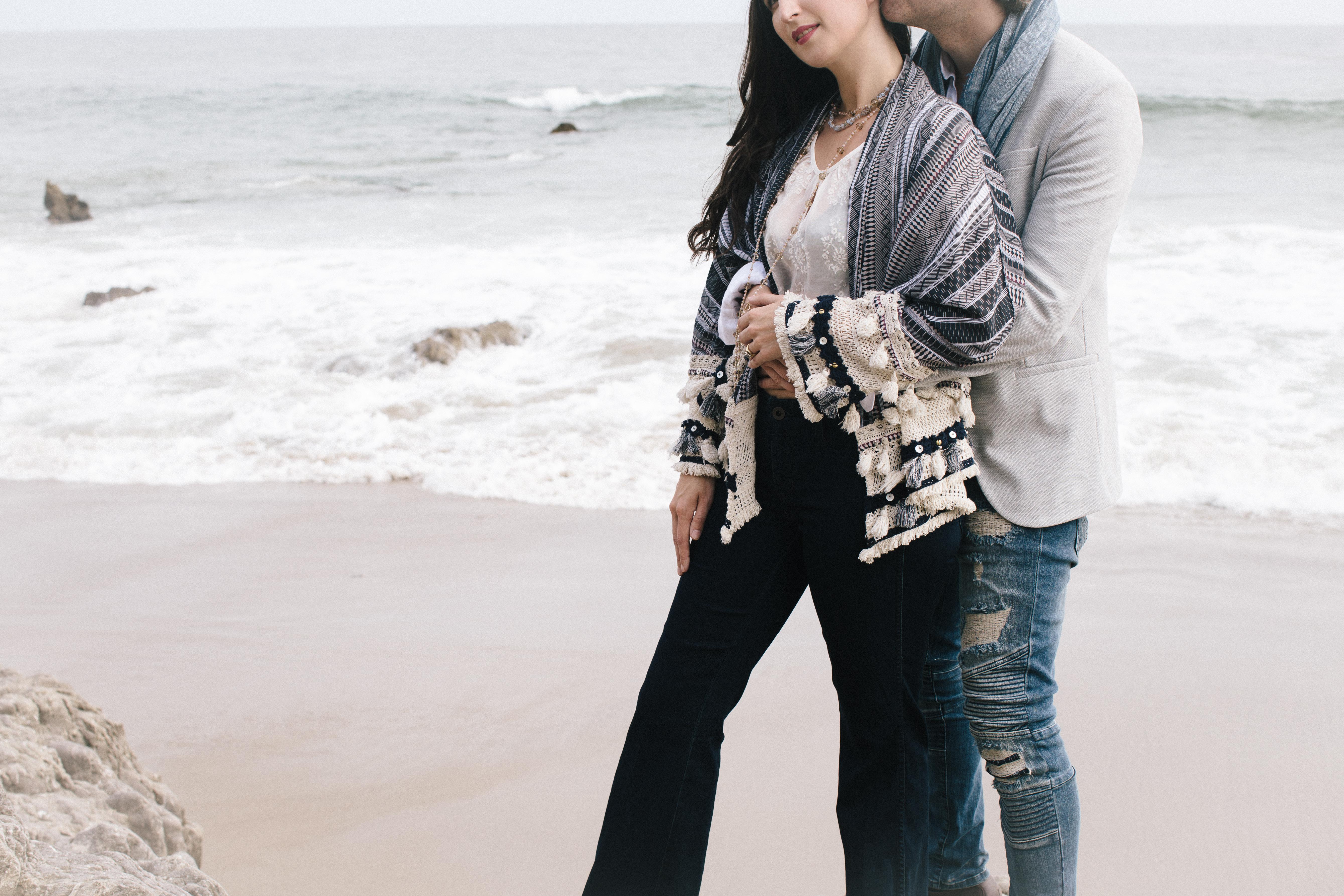 Leo Carrillo State Beach Couples Portraits | Sarah & Nick