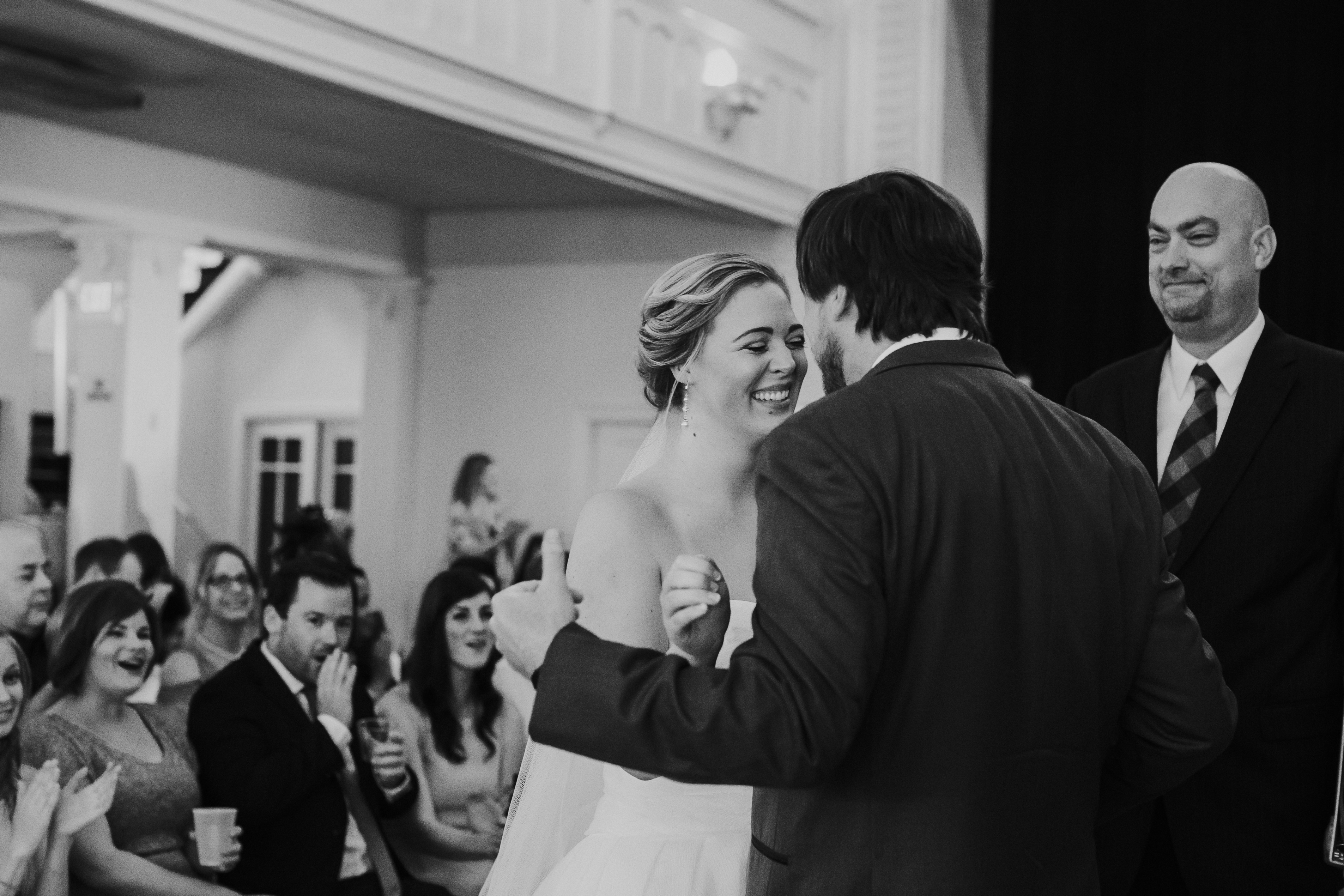 Kansas City Fall Drexel Hall Wedding