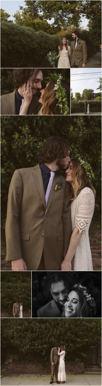 Lynn + Tim Kansas City Scout Statue Intimate Wedding