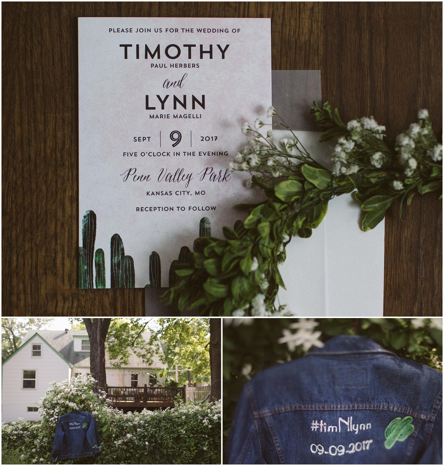 Kansas City Scout Statue Backyard Intimate Wedding Lynn and Tim