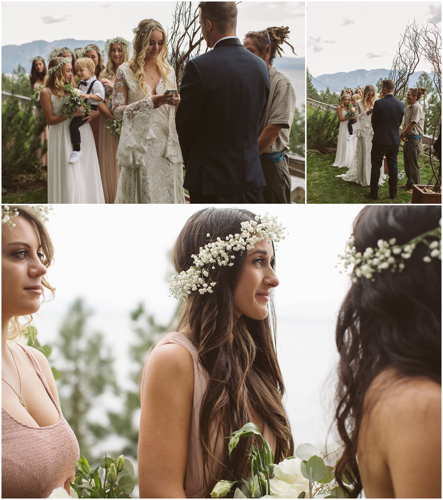South lake tahoe bohemian wedding lindsay bret lindsay and bret south lake tahoe bohemian wedding junglespirit