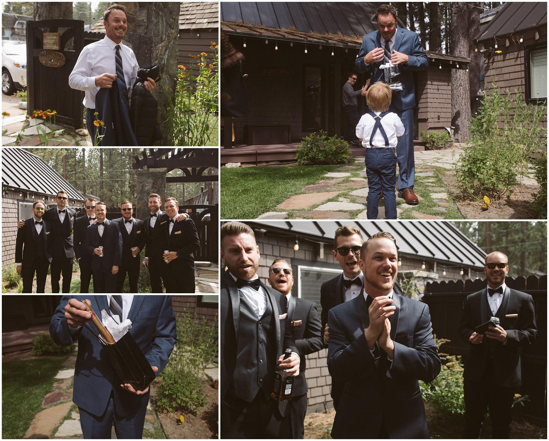 Lindsay and Bret South Lake Tahoe Bohemian Wedding