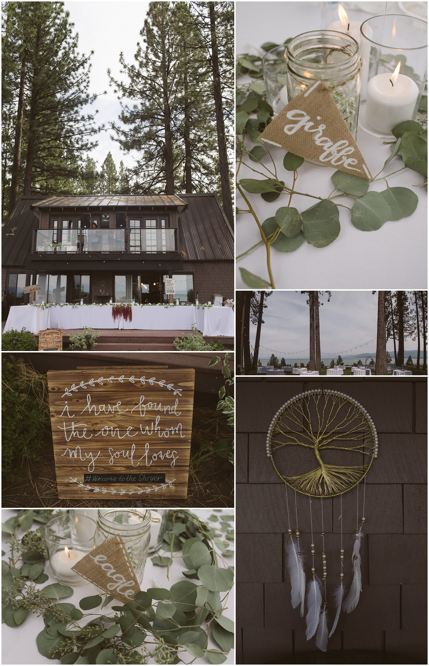 Lindsay and Bret South Lake Tahoe Bohemian Wedding