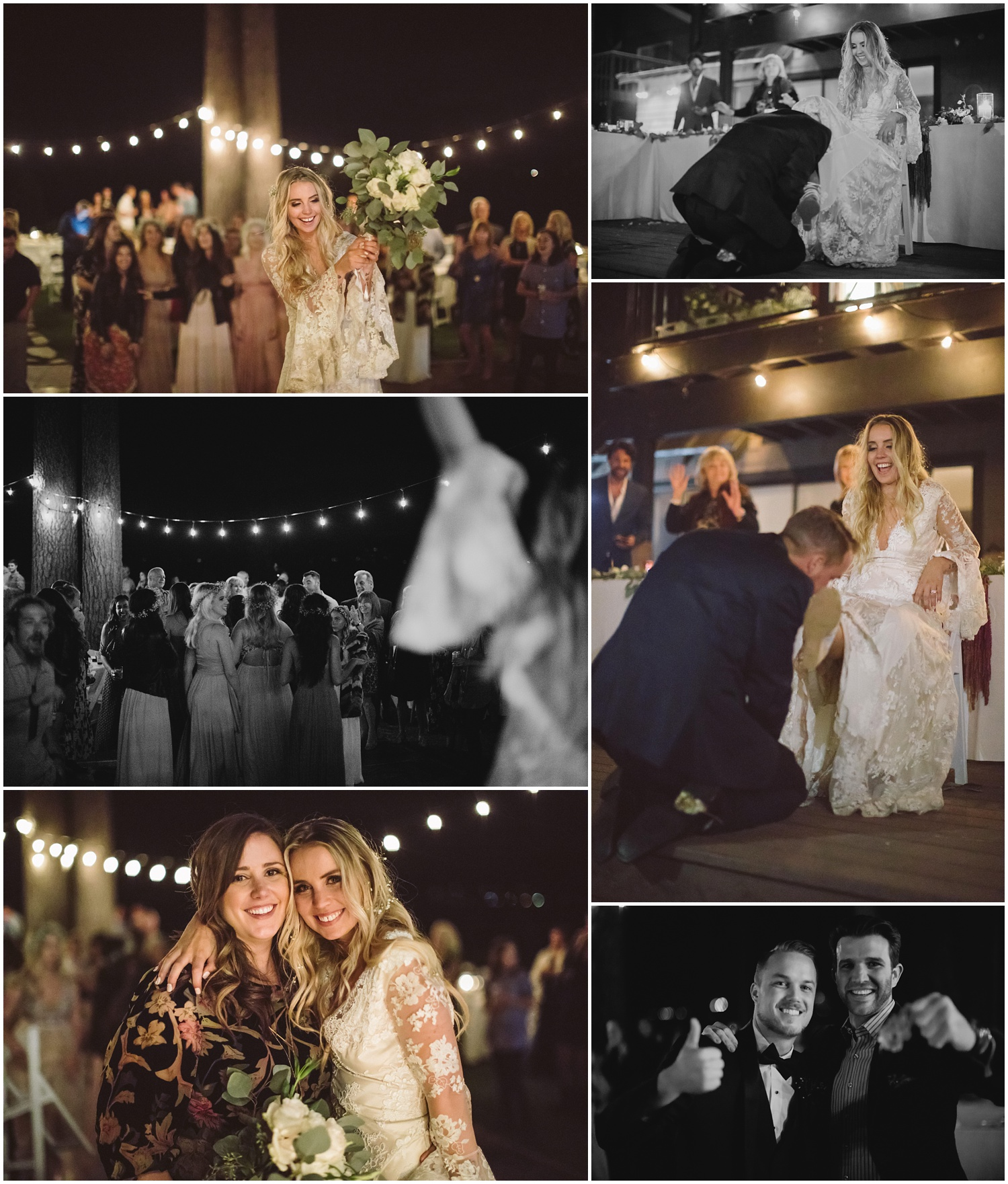 Lindsay and Bret South Lake Tahoe Bohemian Wedding Reception
