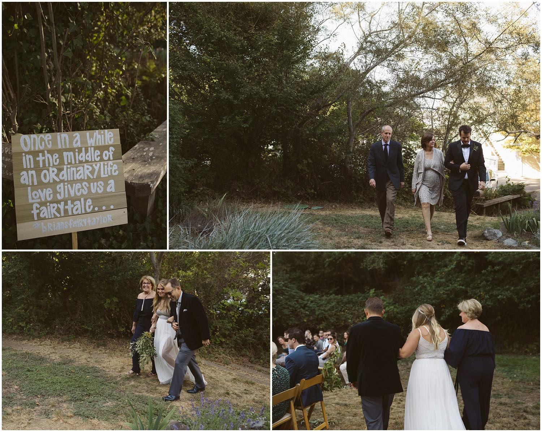 Point Reyes California Wedding