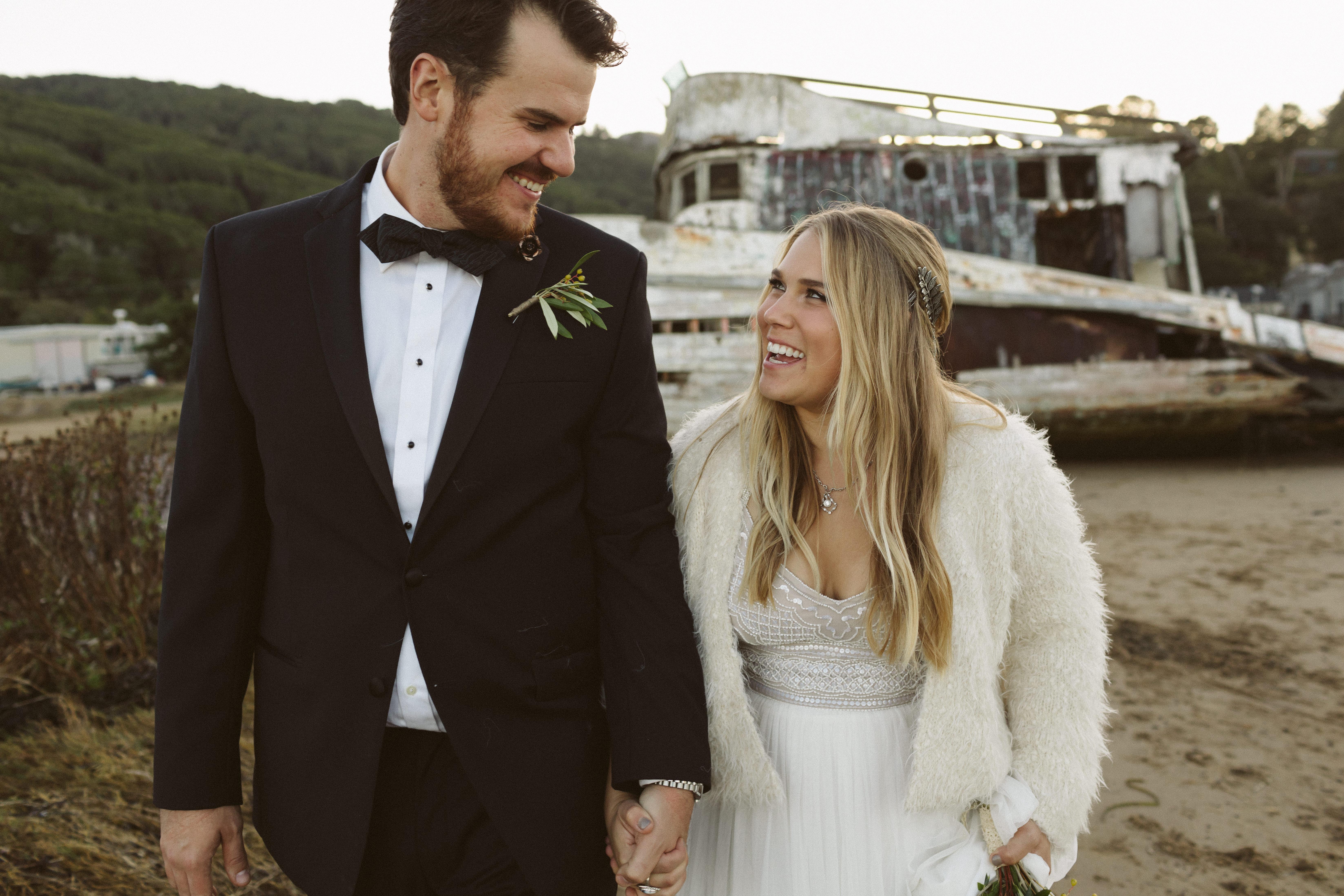 Point Reyes Intimate Wedding