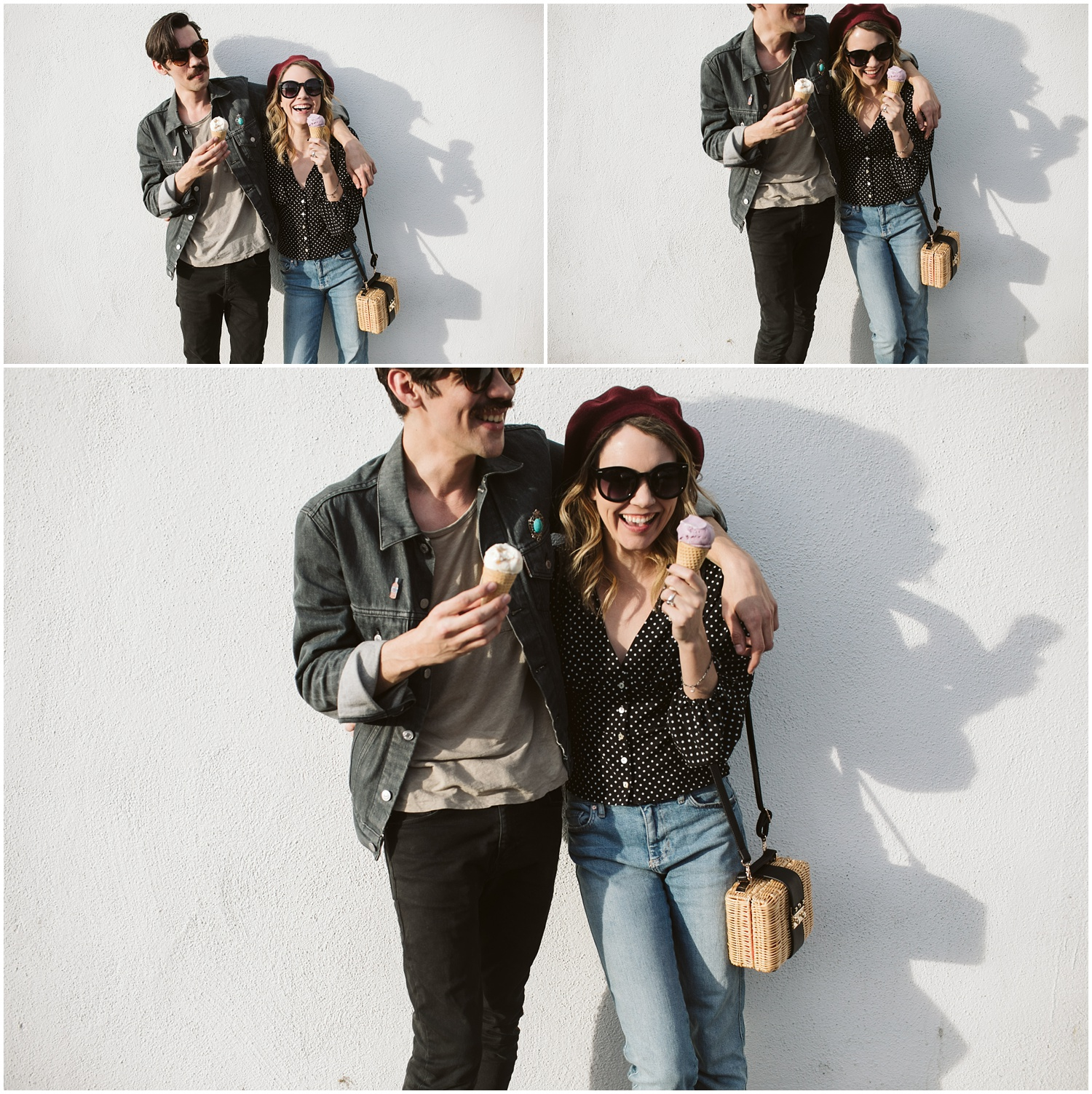 Griffith Observatory Los Angeles Couples Portraits