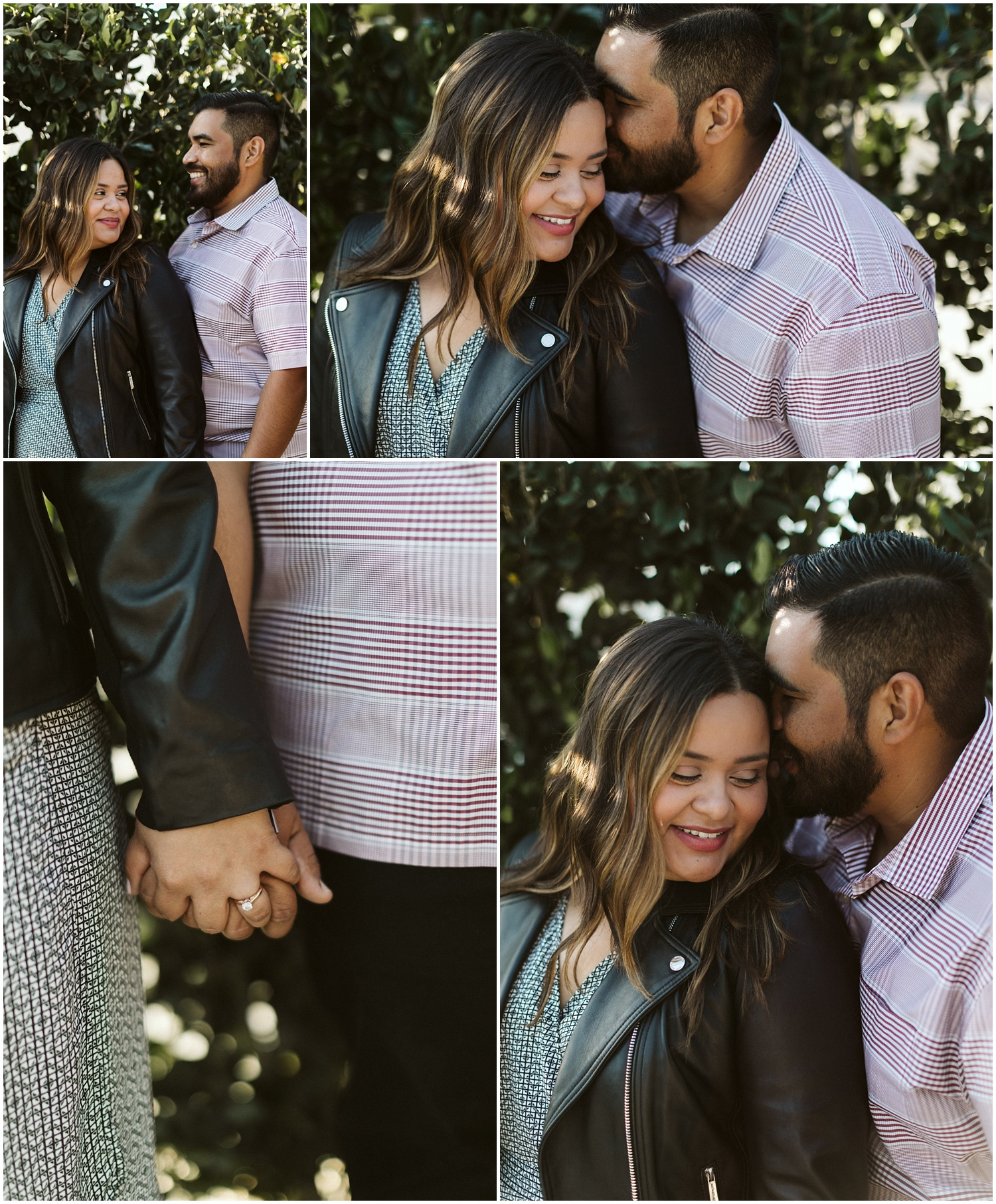 Julie and Danny Anaheim Engagement Session