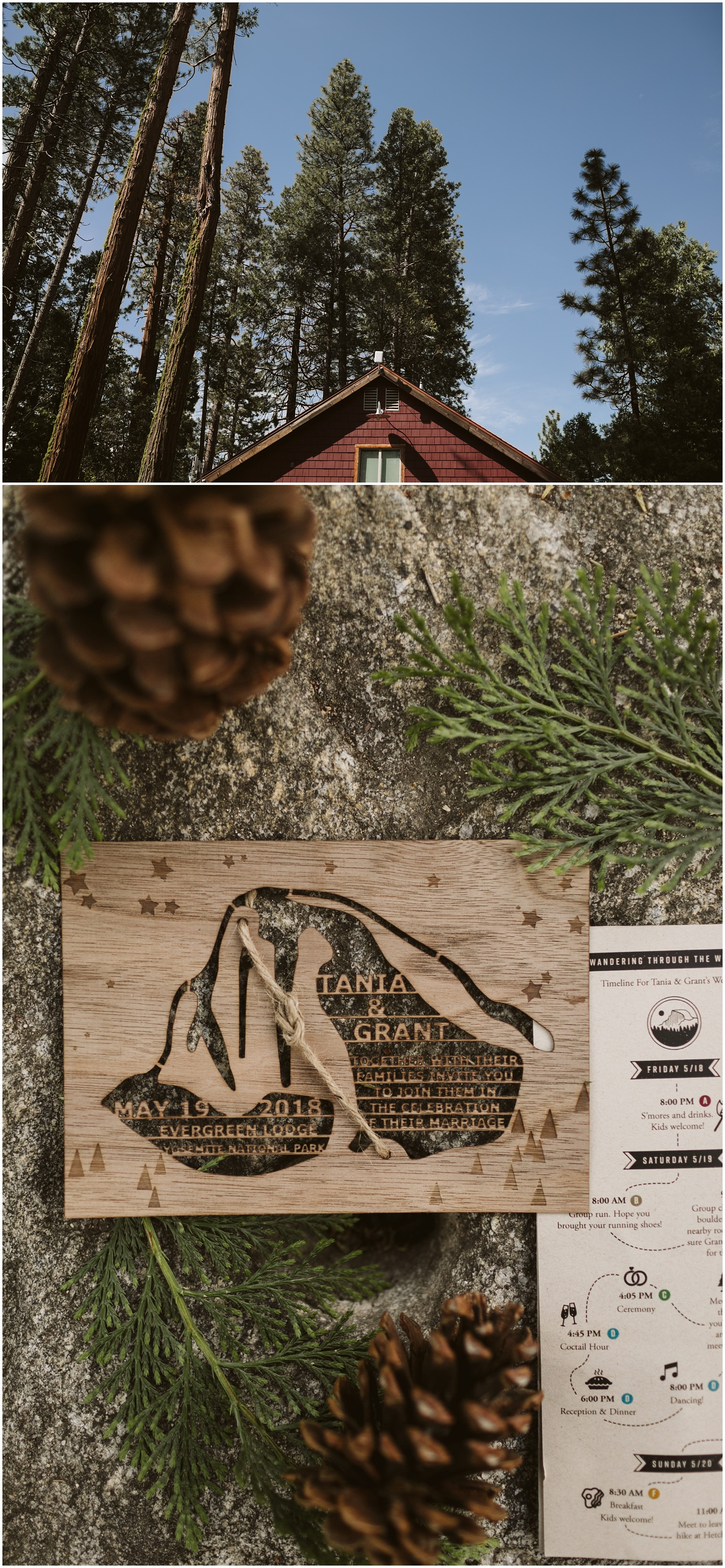 Evergreen Lodge Yosemite Wedding | Tania & Grant