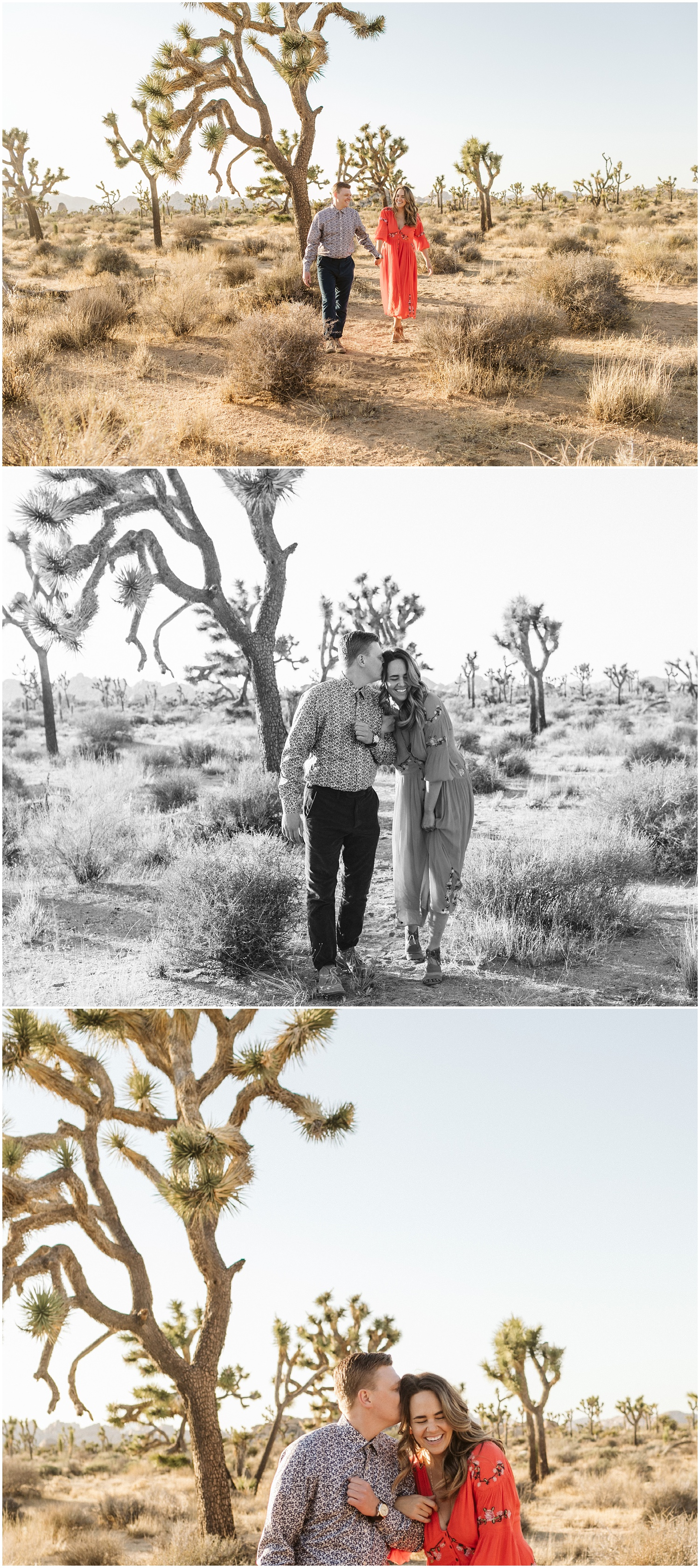 Joshua Tree Engagement Session | Gretchen & Wes
