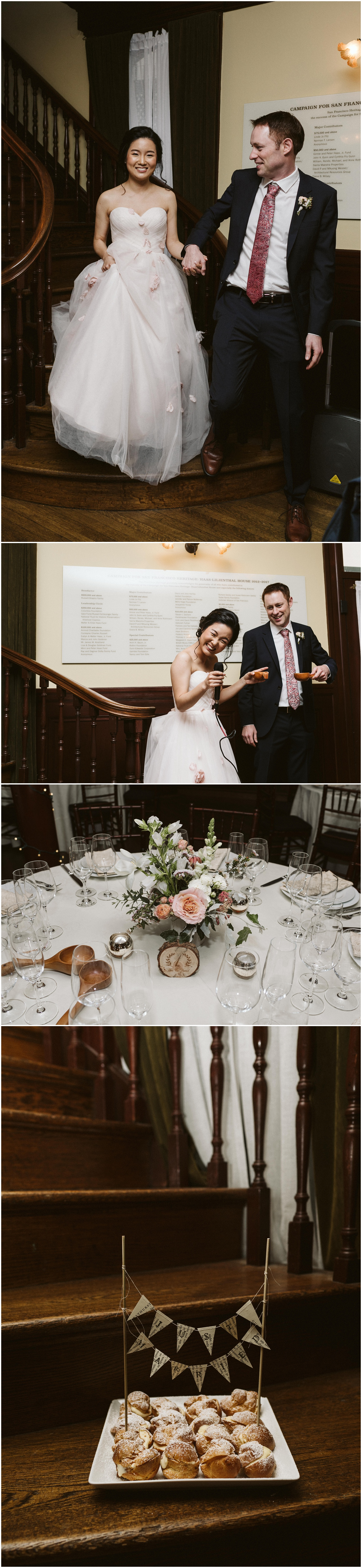 Haas Lilienthal House San Francisco Wedding Sarah and James