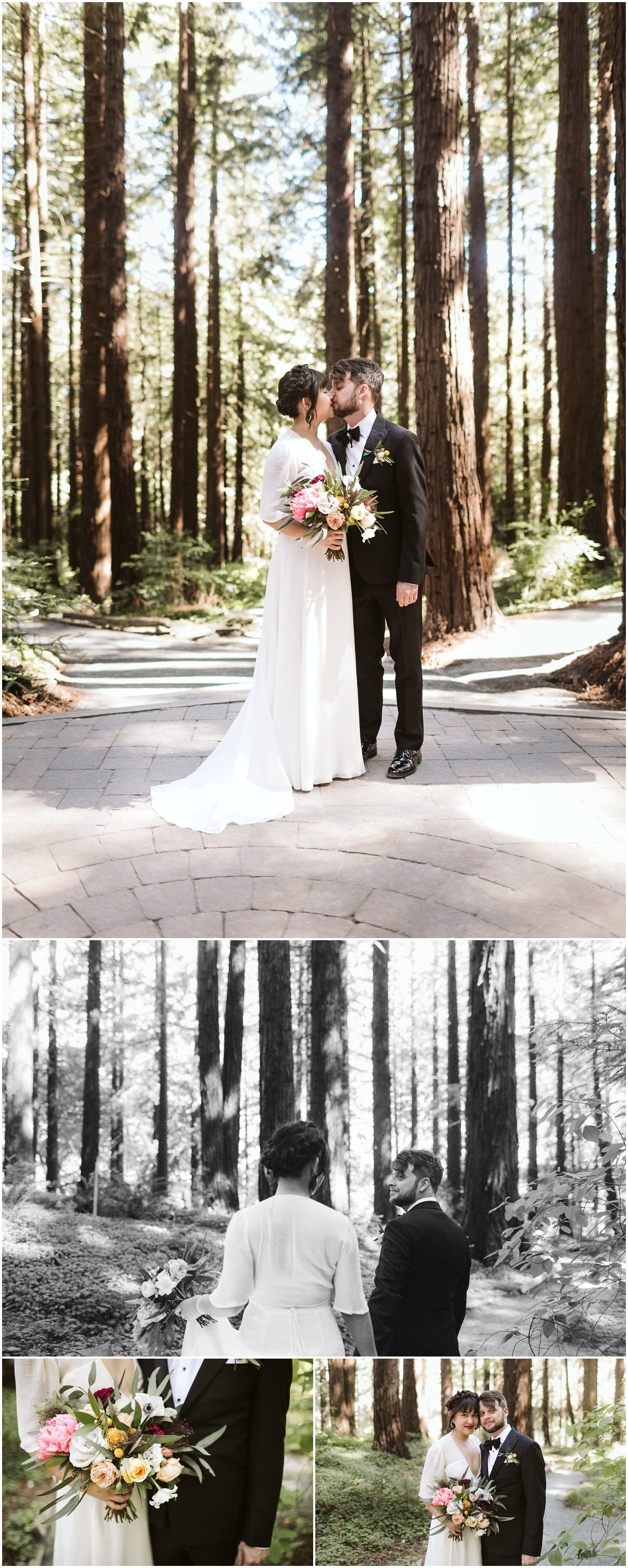 UC Berkeley Botanical Garden Redwood Grove Wedding | Derek + Debbie