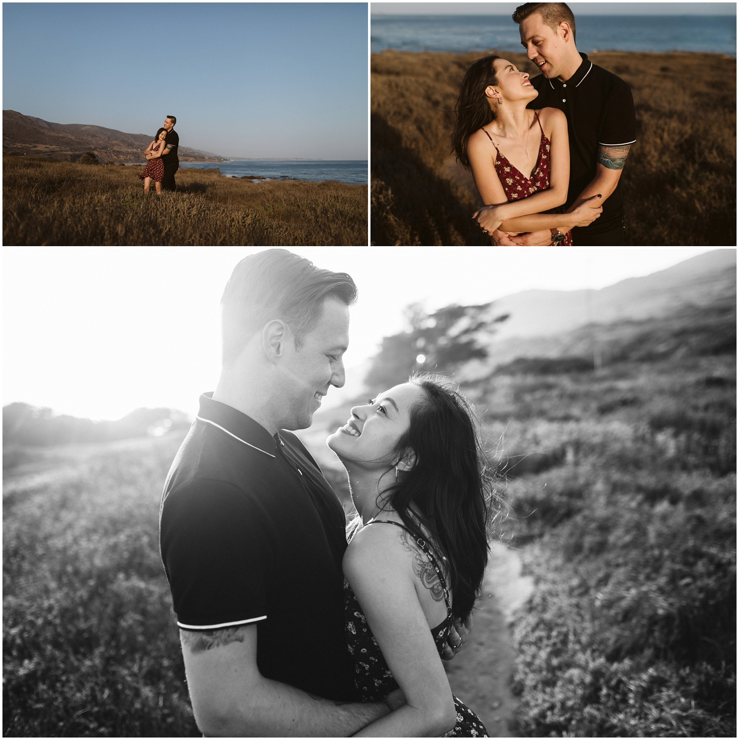 Leo Carrillo State Beach Malibu Engagement | Dylan & Trisha