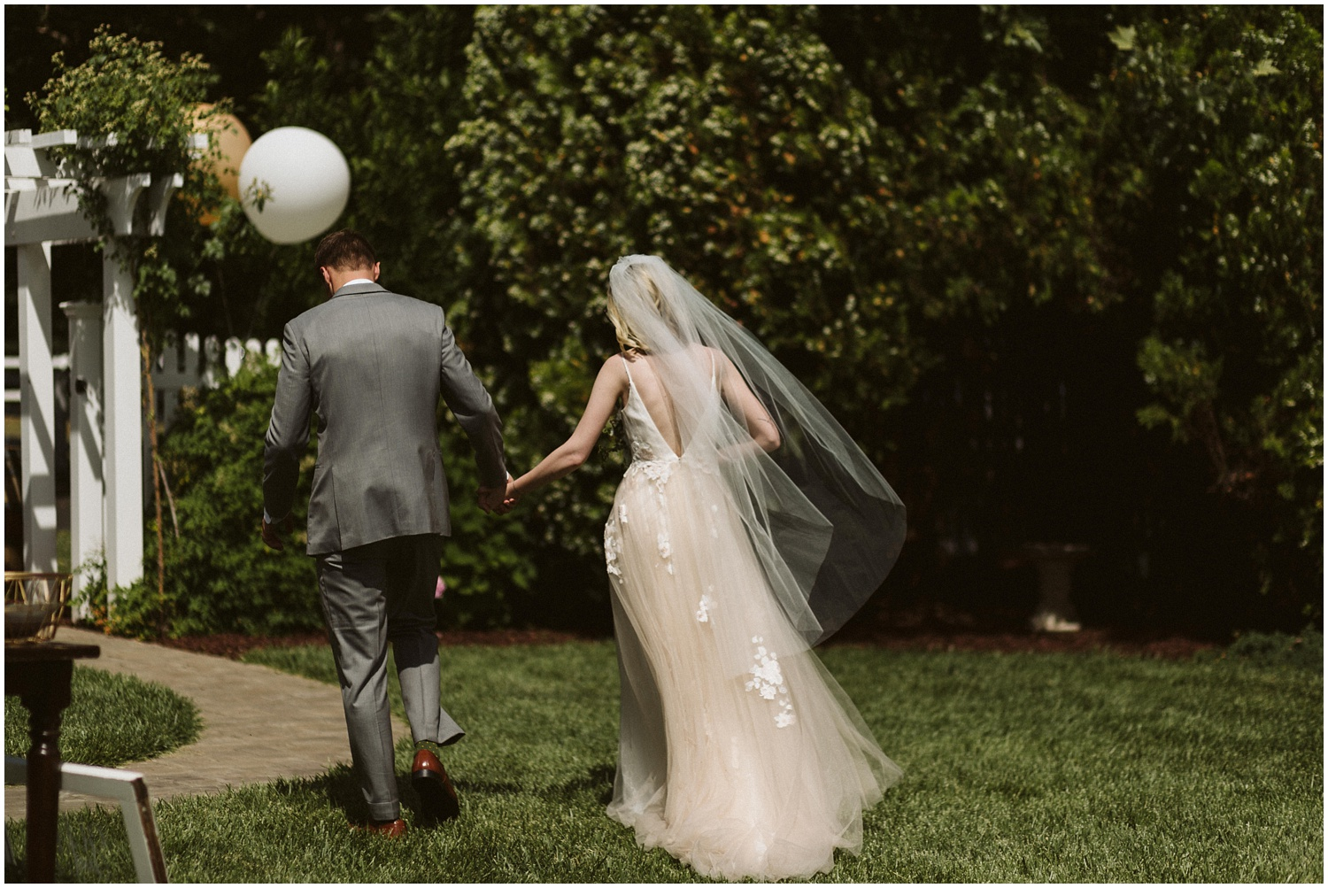 Healdsburg Intimate Backyard Brunch Wedding | Sarah & Miles