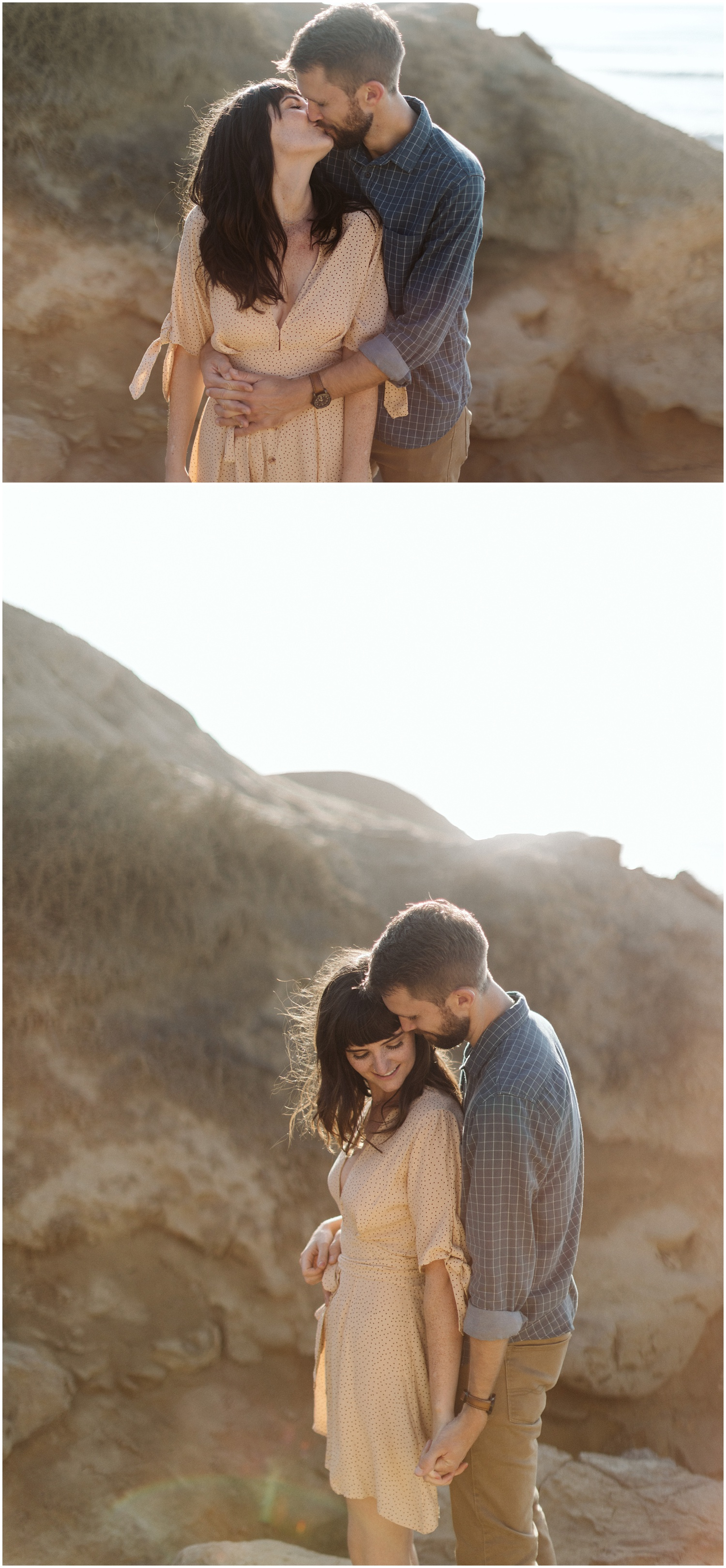 Kathryn & Heath San Diego Sunset Cliffs Engagement Session