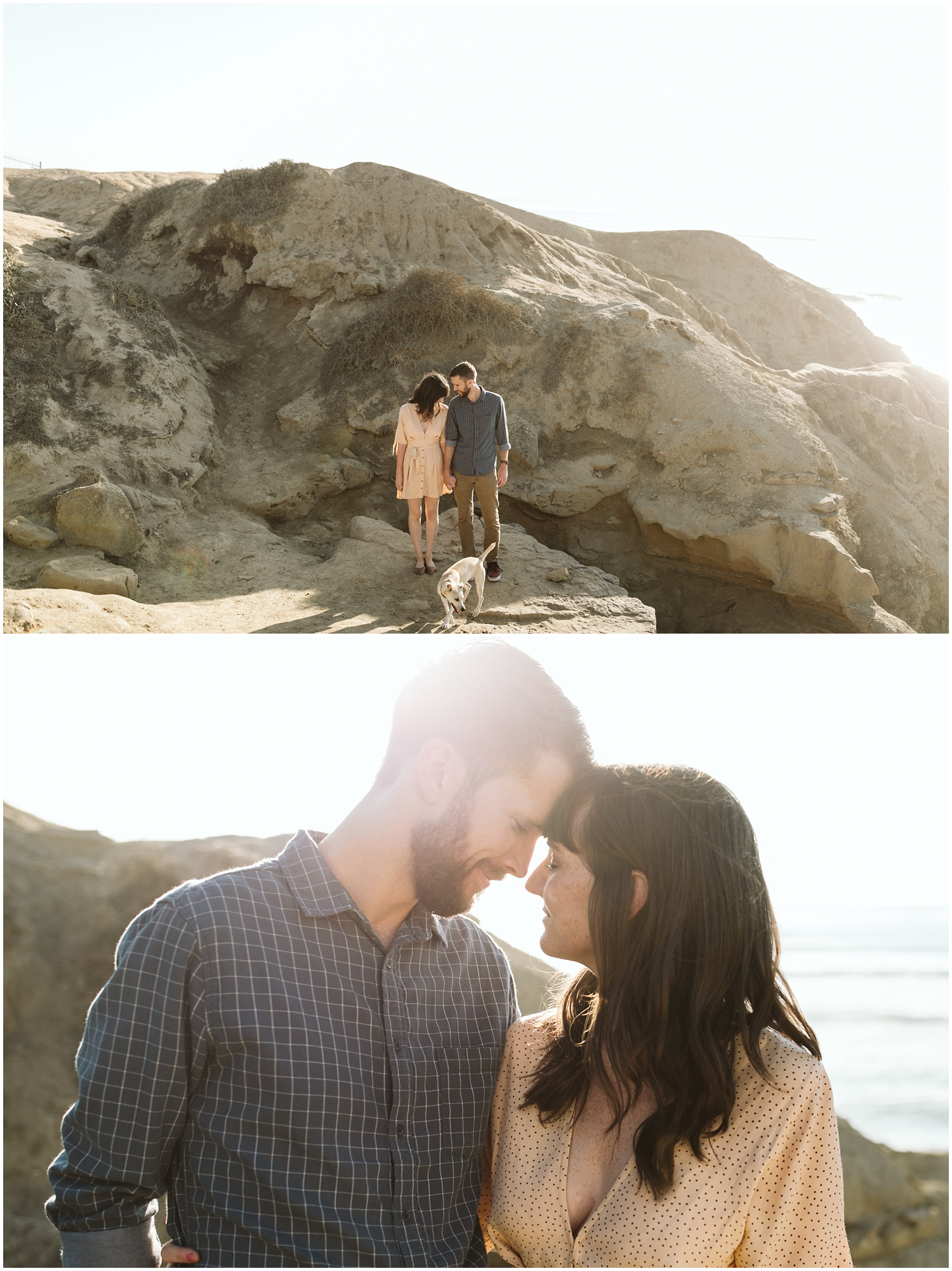 Kathryn & Heath San Diego Sunset Cliffs Engagement Session-5
