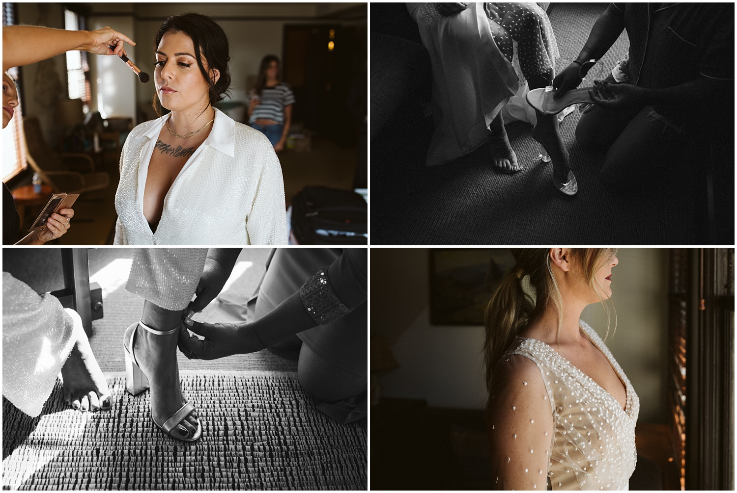 Mattison and Nekita Millwick Wedding DTLA Freehand Hotel